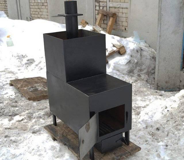 Железная печь