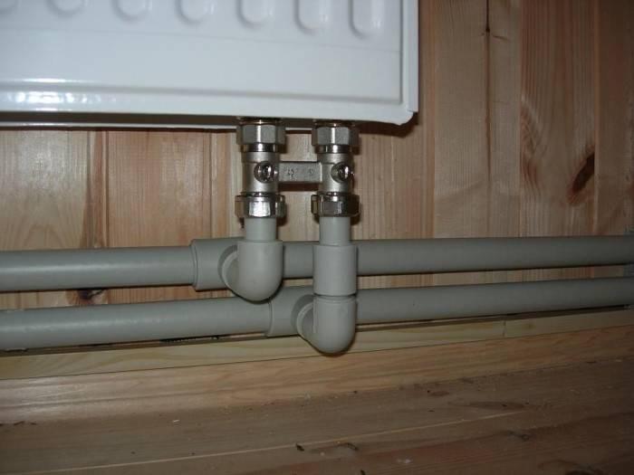 Правильное подключение радиаторов отопления