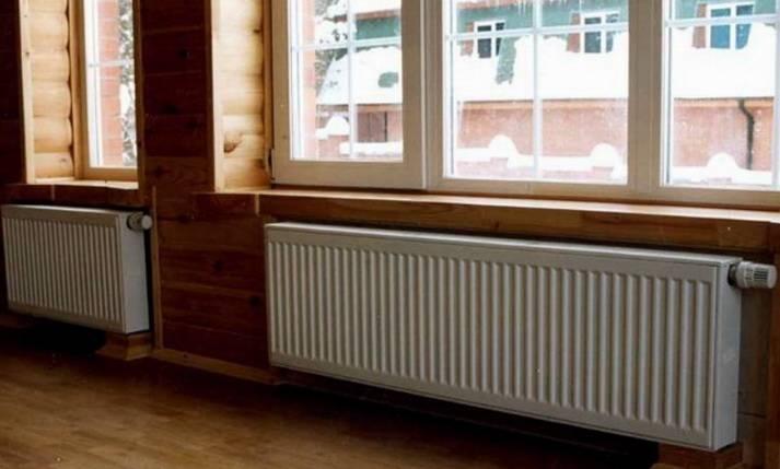 Теплоотдача радиаторов отопления таблица