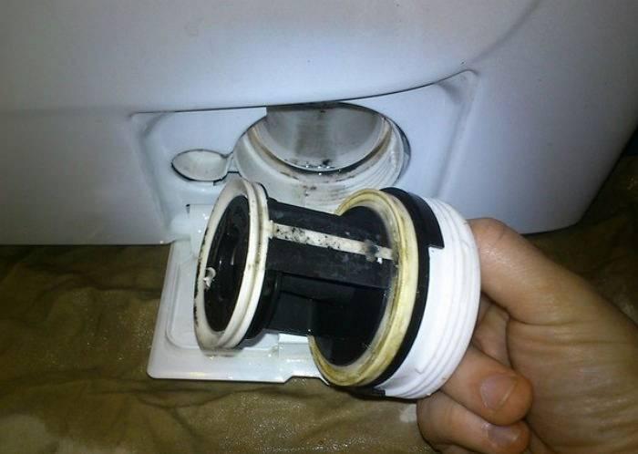 Как устранить запах в стиральной машинке