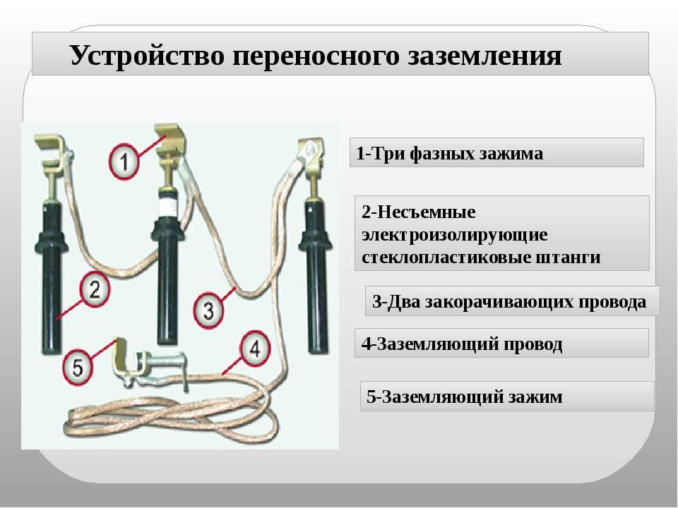 Устройство заземления электроустановок