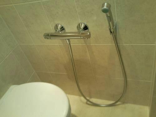 Гигиенический душ высота установки