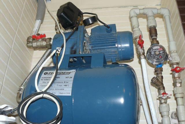 Как отрегулировать реле давления на насосной станции
