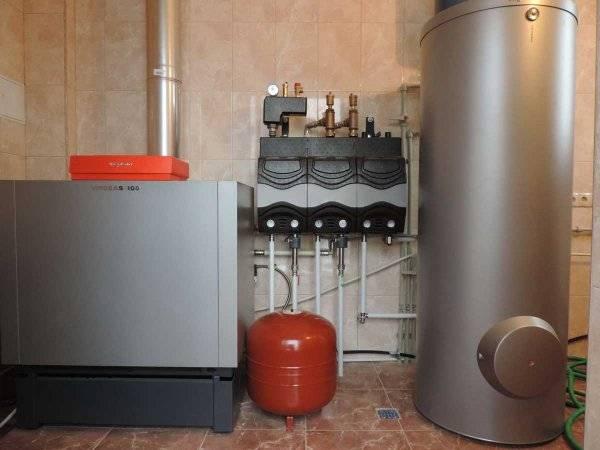 Газовые котлы отопления напольные