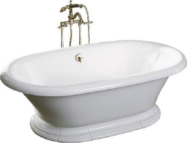 Высота чугунной ванны