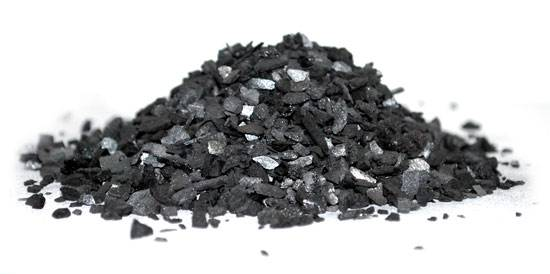 Уголь для фильтрации воды