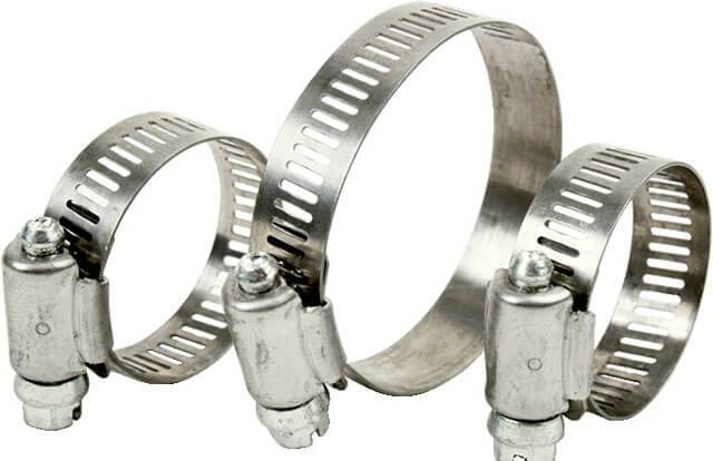 Хомуты для крепления труб металлические стальные