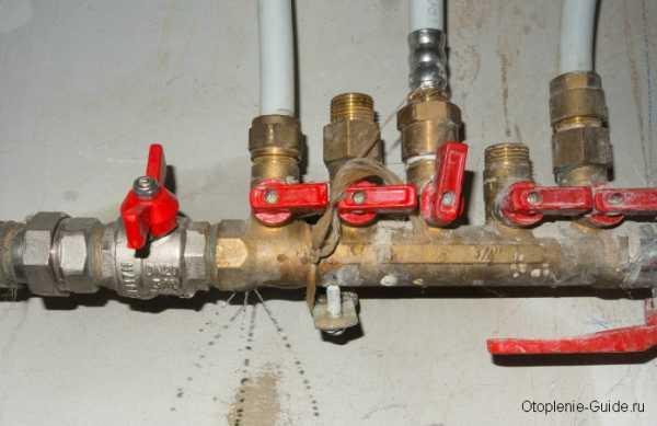 Опрессовка системы отопления воздухом