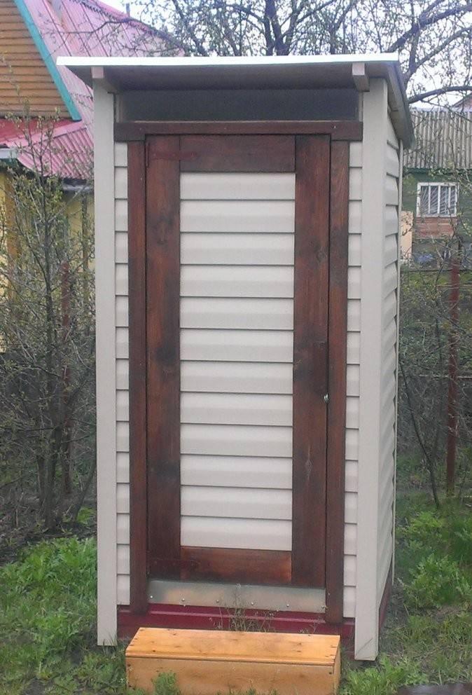 Как обустроить туалет на даче