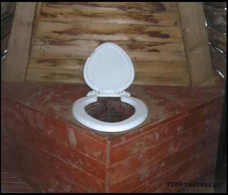 Сиденье для дачного туалета