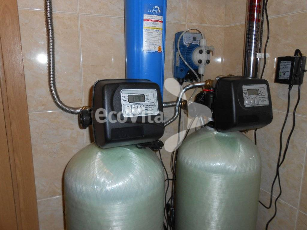 Фильтр для воды из колодца на даче