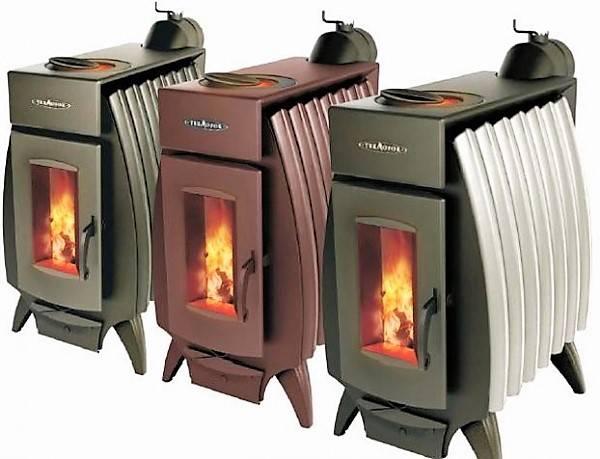 Железная печка для дома