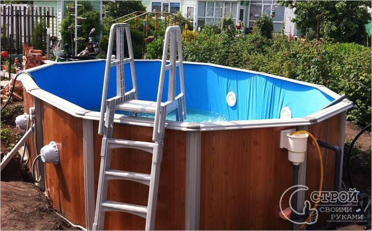 Как построить бассейн своими руками на даче