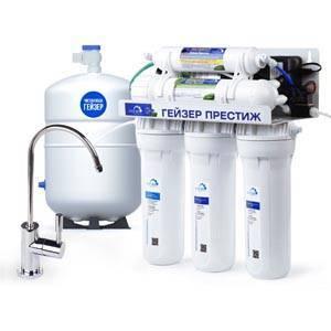Очистка воды в доме