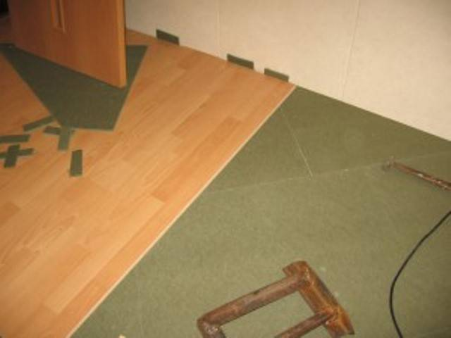 Шумоизоляция перекрытий между этажами