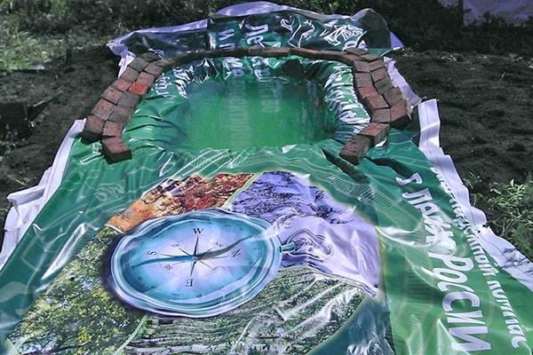 Построить бассейн своими руками на даче