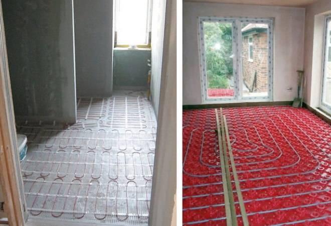 Отопление в двухэтажном доме