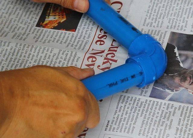 Как спаять полипропиленовые трубы без паяльника