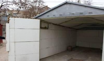 Утеплить гараж изнутри