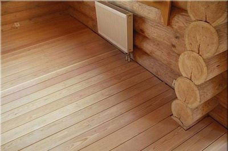 Утепление пола второго этажа в деревянном доме