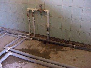 Уклон наружного водопровода