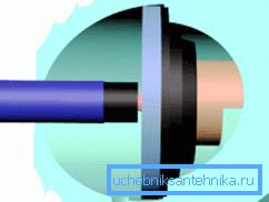 Сливной клапан для унитаза