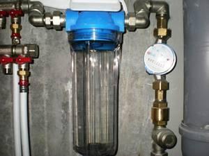 Фильтр грубой очистки воды перед счетчиком