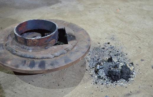 Печка на отработанном масле