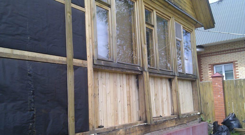 Как утеплить террасу в деревянном доме