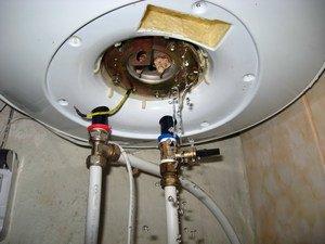 Сливной кран для водонагревателя