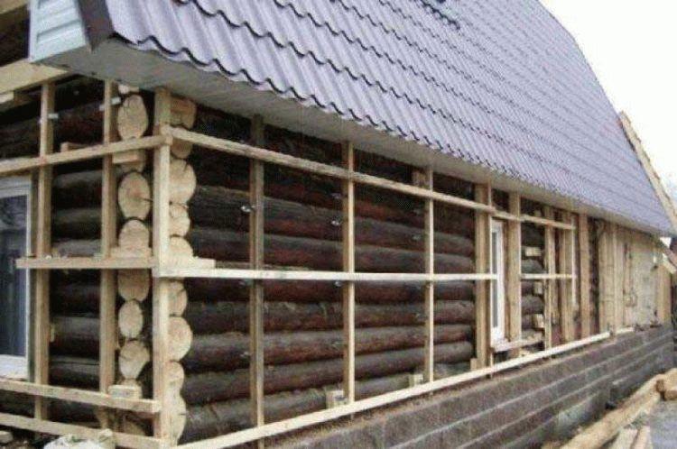 Чем утеплить фасад деревянного дома снаружи