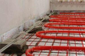 Теплый пол водяной от газового