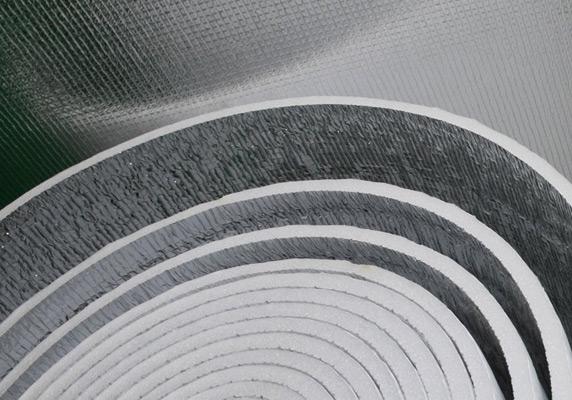 Подложка фольгированная под теплый пол