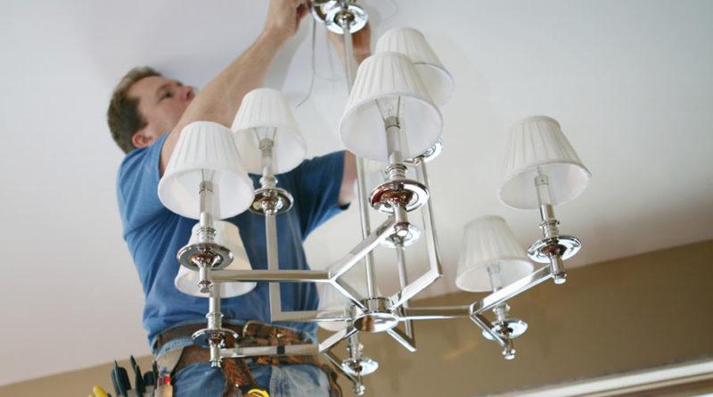 Как подключить светильник к выключателю