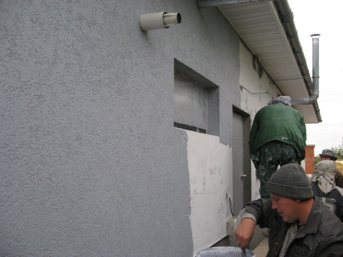 Утепление фасада пенопластом технология