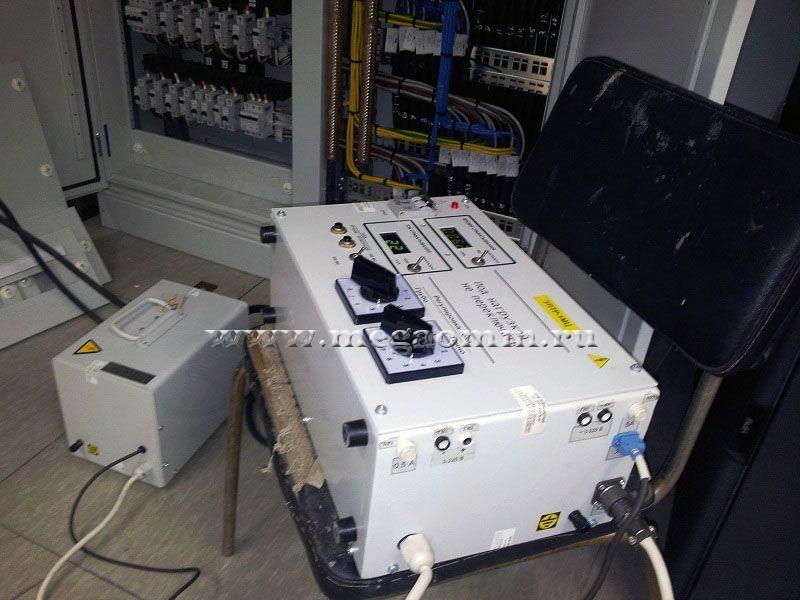 Протокол прогрузки автоматических выключателей