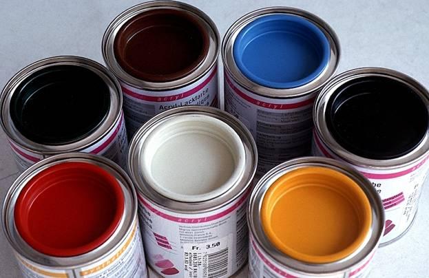 Термостойкая краска для печей