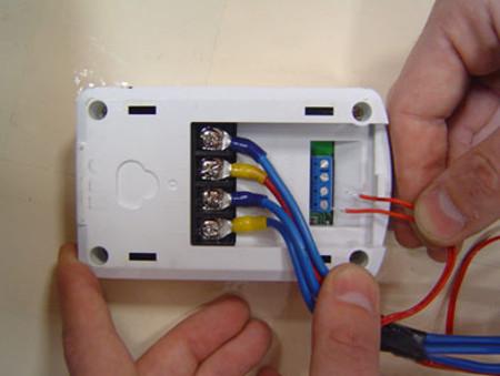 Схема подключения электрических теплых полов