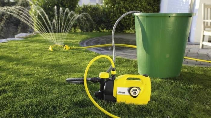 Бочковой насос для полива огорода из бочки