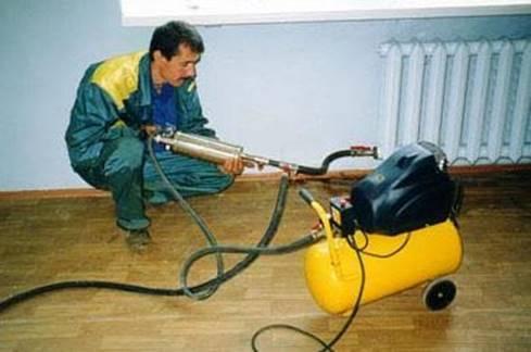 Процедура прочистки труб